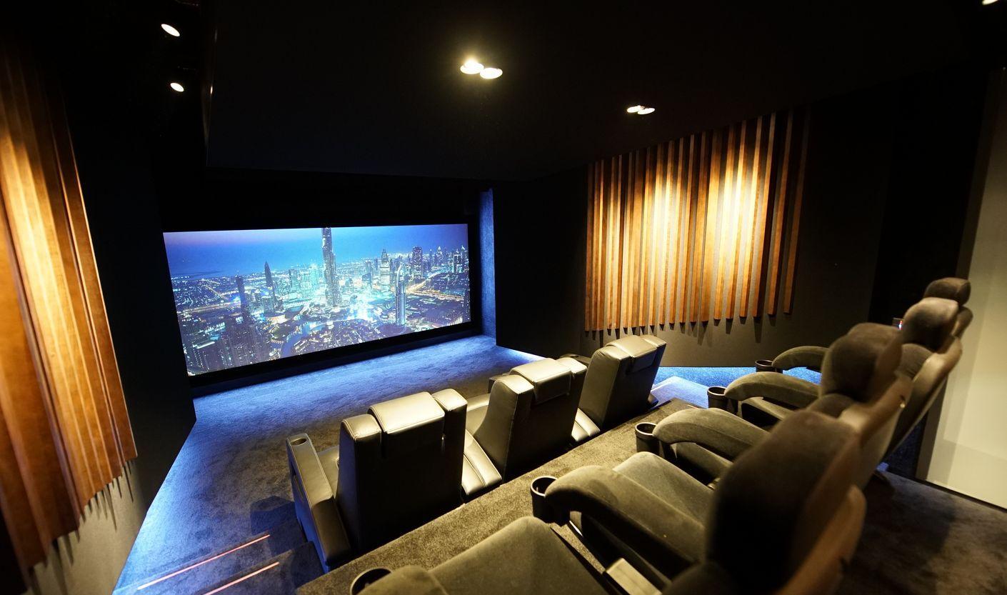 Ihr privates Kino Hollywood Zuhause Komplettheimkino - von uns schlüsselfertig für Sie gebaut