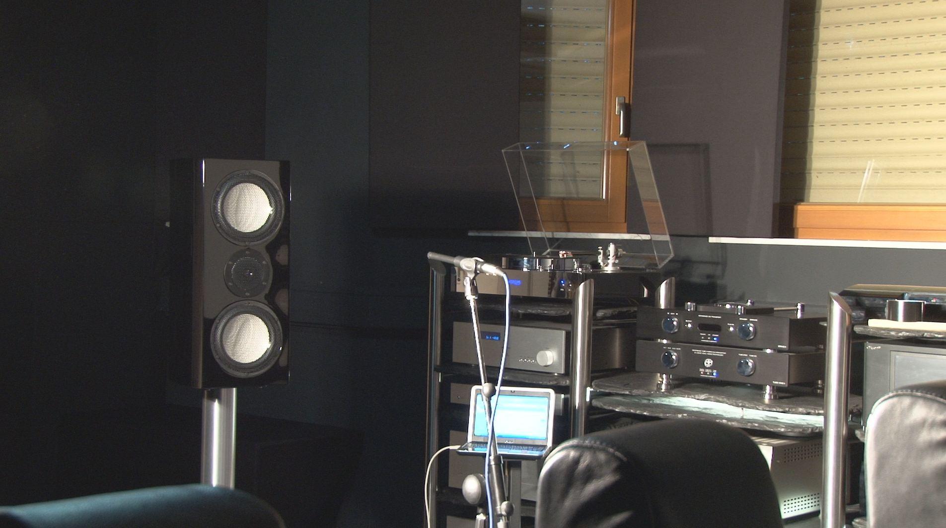 Heimkino Akustik Messung