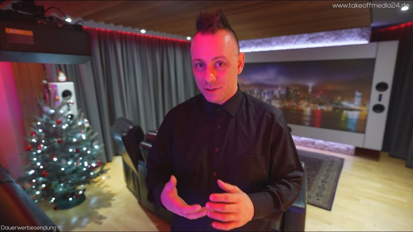 "Room Tour & persönlicher Blick hinter die Kulissen - ""on the road"" Heimkino Doku-Serie S4E11"