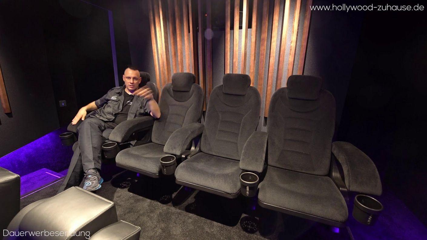 Produktvorstellung Hollywood Seating Pasadena Kinositze