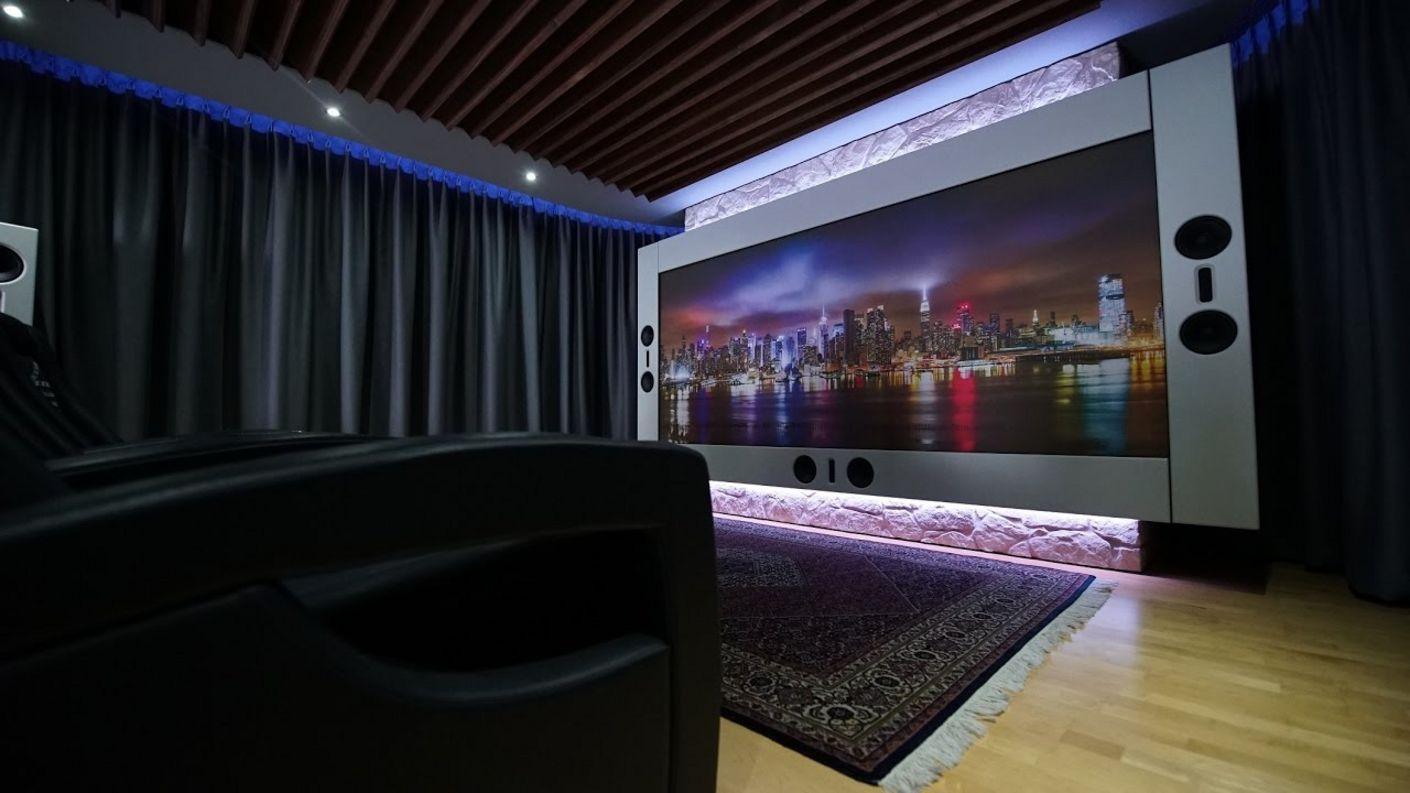 Referenzheimkino im Wohnzimmer - die theatreLounge