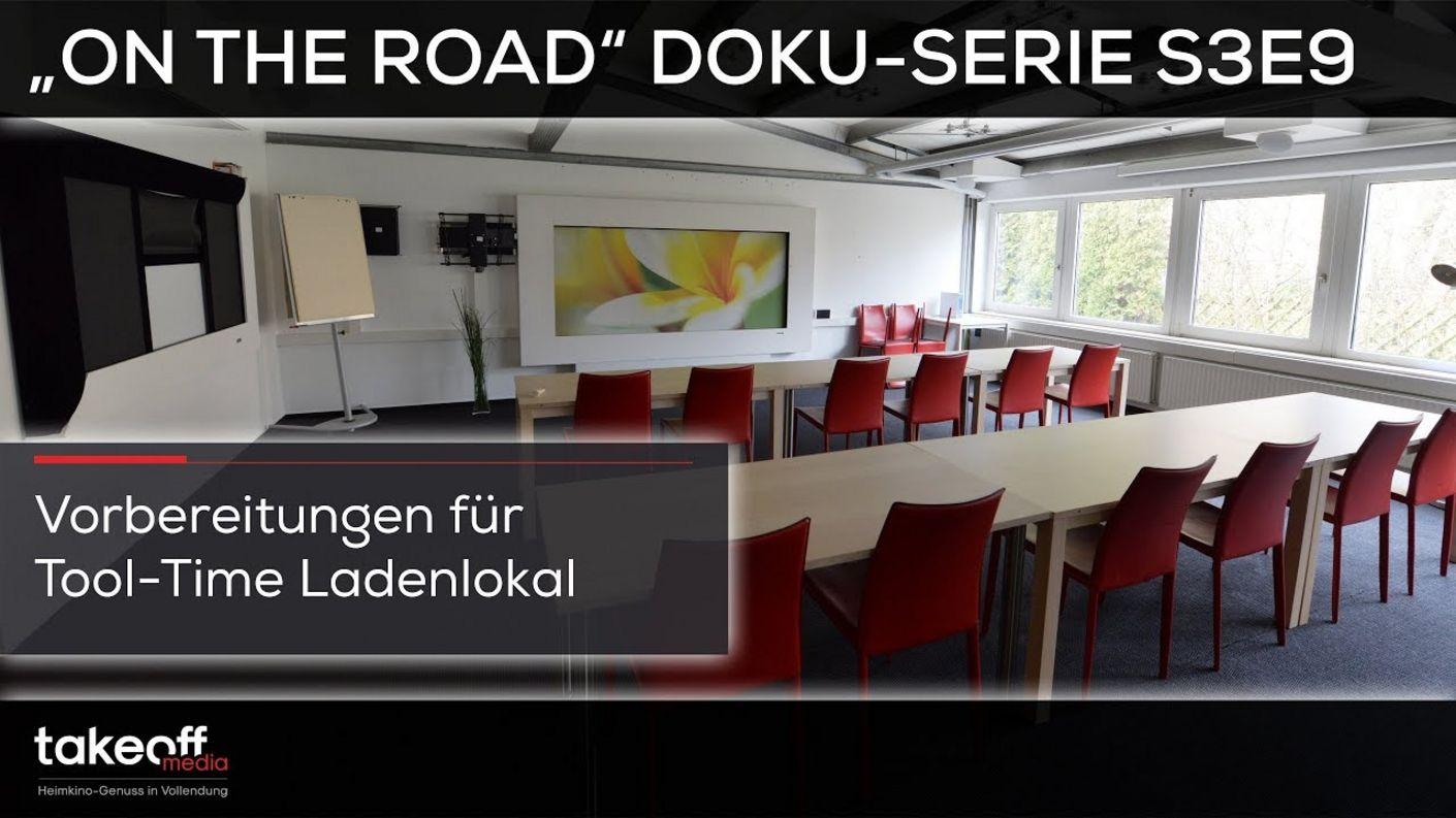 "Takeoff Media - Einblicke bei Heimkino Baumarkt-Vorbereitung - Doku Serie ""on the road"" S3E9"