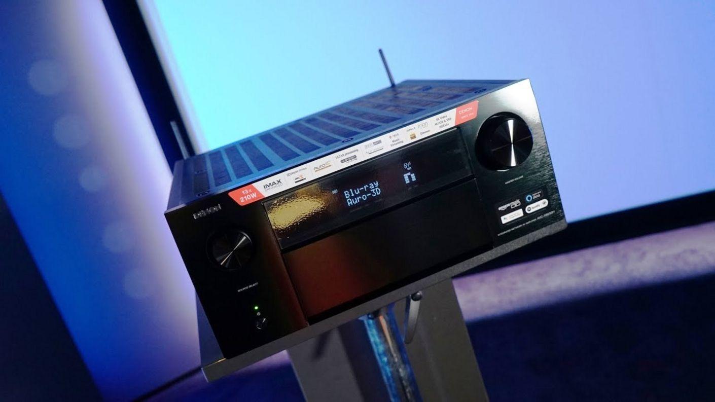 Denon AVC X8500HA im Heimkino Test. Wie gut ist der 13ch Atmos Bolide mit 8K &Auro3D in der Praxis ?