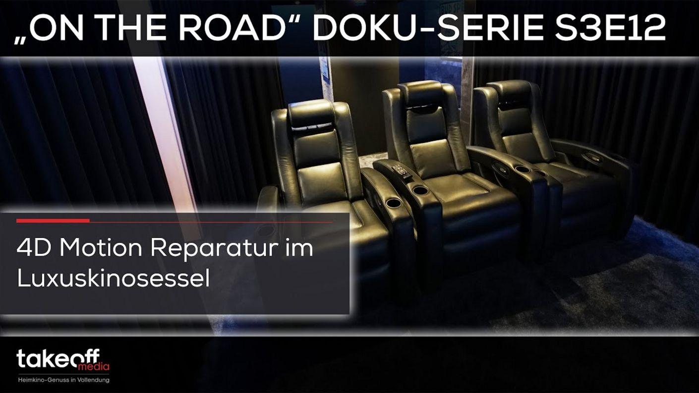 "Heimkino Setup-Installation - Operation D-Box - Heimkino Doku-Serie ""on the road"" S3E12"