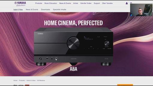 Analyse: Yamaha RX-A6A RX-A8A mit Auro3D - Vorstellung der neuen Heimkino AV-Receiver