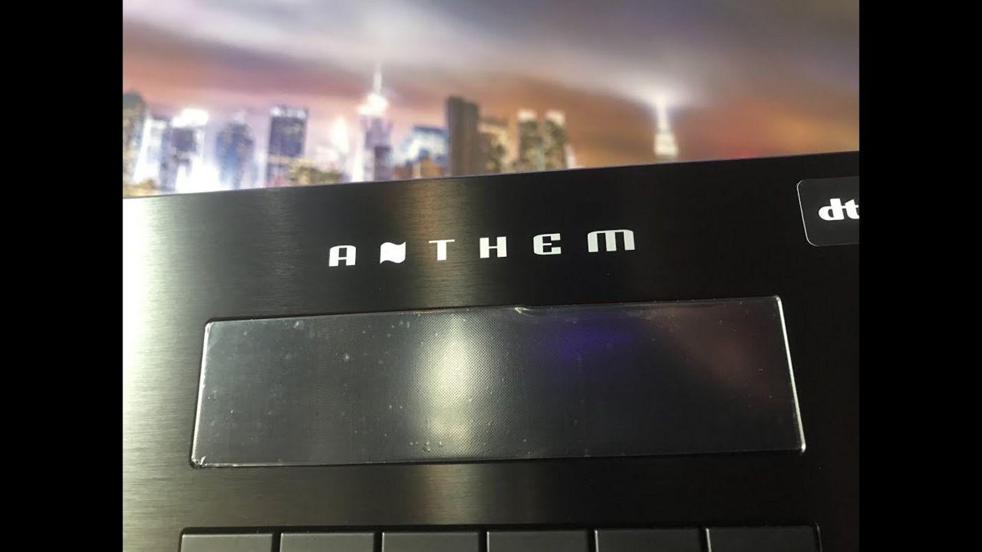 Anthem Heimkino AV-Receiver / Vorstufen mit Dolby Atmos und DTS-X - Eine Marktanalyse 2020