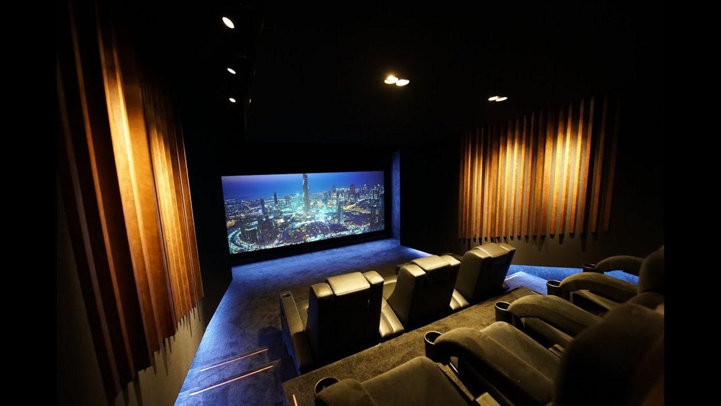 So wurde dieses Traumheimkino mit Hollywood-Zuhause Wirklichkeit - mit 3 einfachen Schritten