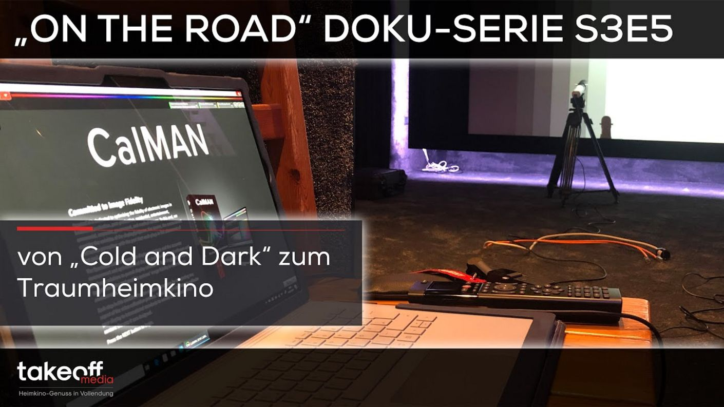 "Heimkinobau - Initialzündung eines neuen Traumheimkinos - Heimkino Doku-Serie ""On the road"" S3E5"