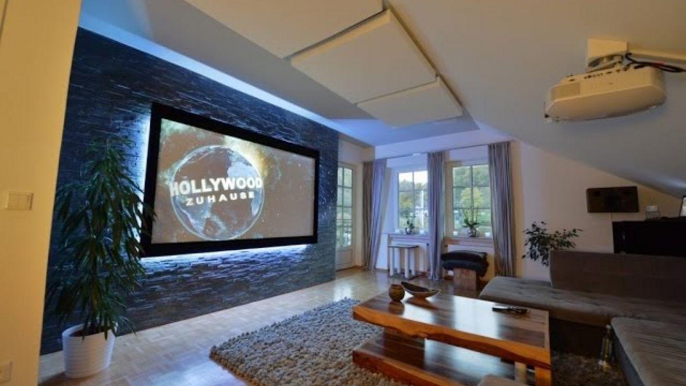 Dolby Atmos, coole Optik, großes Bild: Vorstellung Kundenheimkino von Joachim