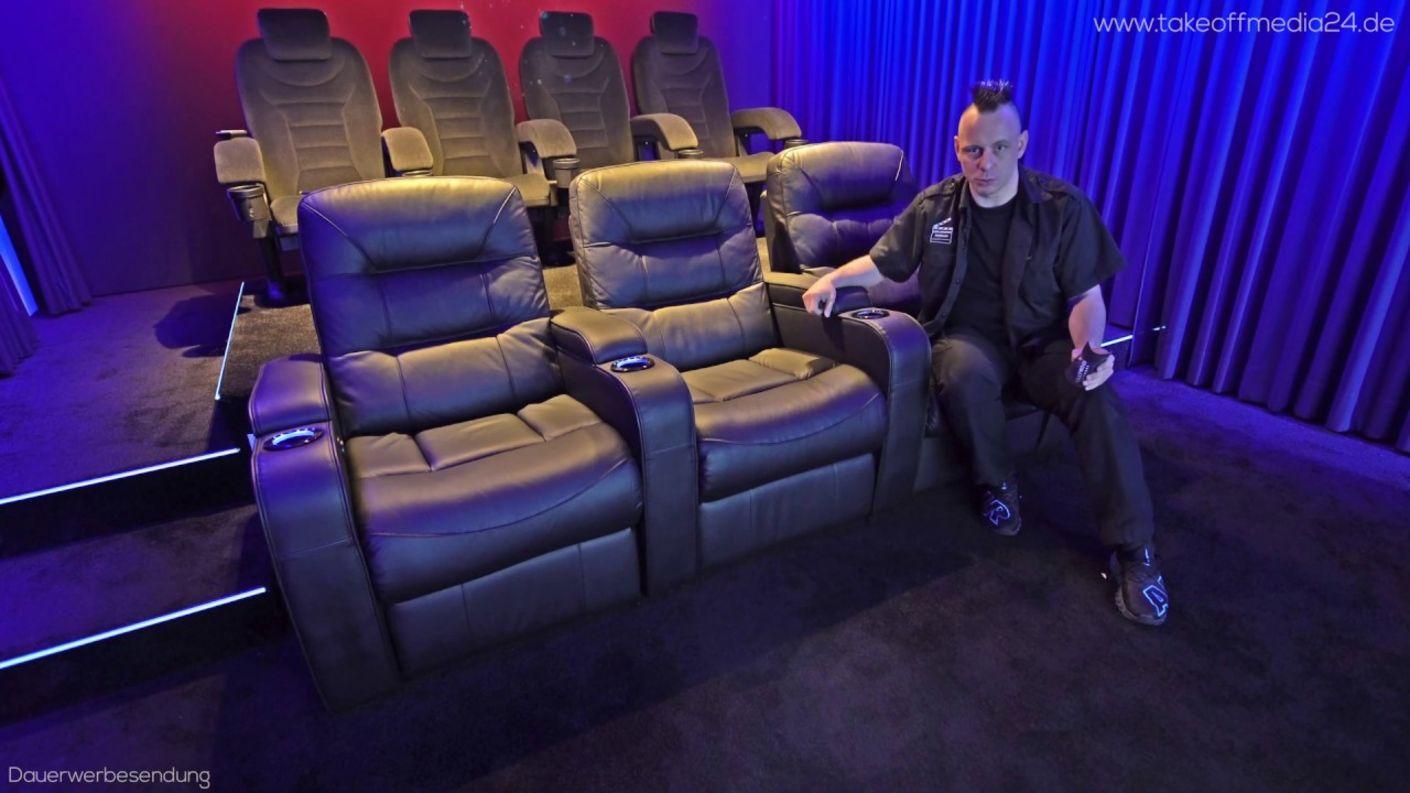 """Heimkino-Sessel für das Kino Zuhause - Heimkinos bauen mit Hollywood seating """"Ventura"""""""