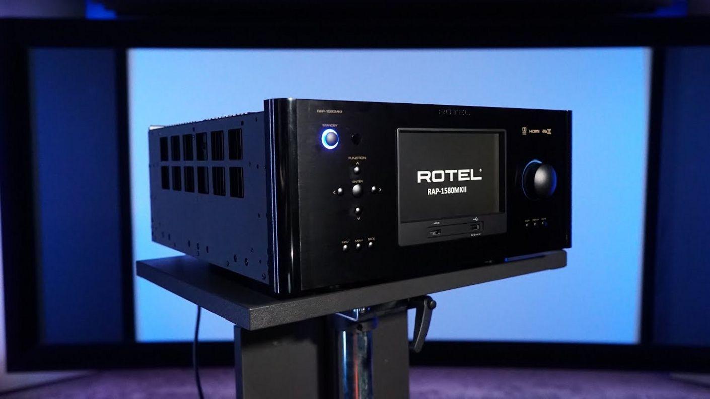 audiophile Heimkino Versuchung ? Der Rotel RAP-1580 MK2 Verstärker mit Dirac, Atmos & DTS-X im Test