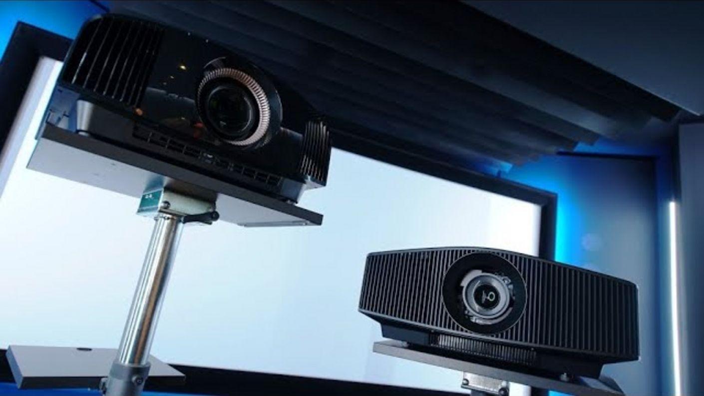 Test (1) Sony VPL-VW590 VW790ES 4K HDR Heimkino Beamer - was können die neuen Projektoren wirklich ?