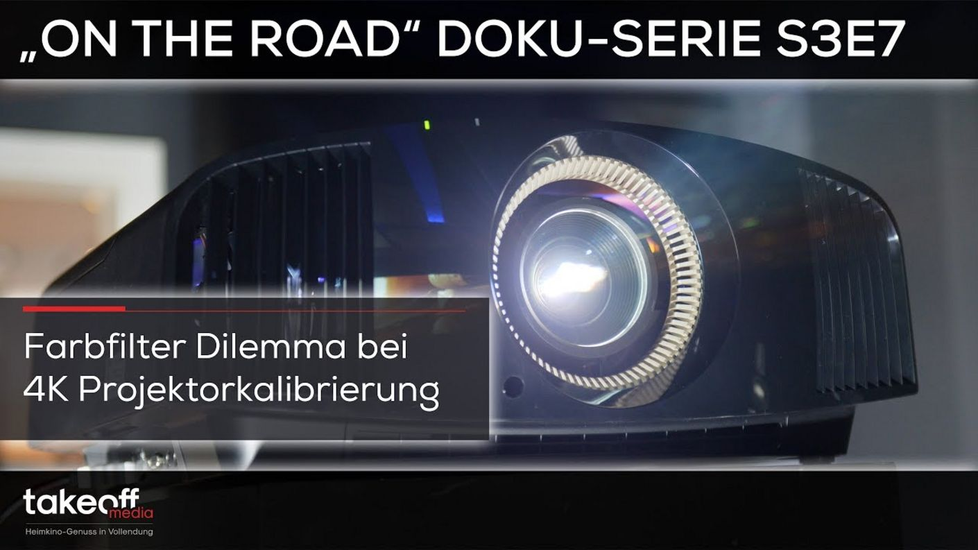 Überraschung bei Sony VW570 Kalibrierung - Heimkino Doku-Serie On the road S3E7