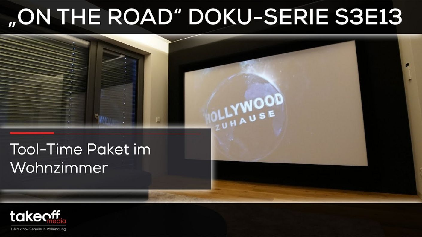 "Heimkino Selbst bauen - Das Wohnzimmer Selbstbauexperiment - Heimkino Doku-Serie ""on the road S3E13"