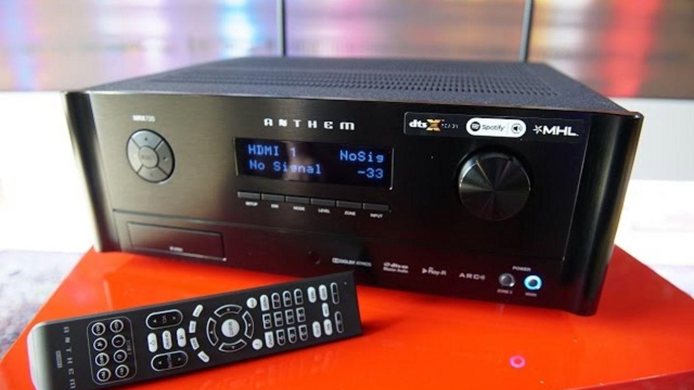 Anthem MRX 720 + AVM 60 4K+Atmos+DTS-X AVR/Vorstufe im Test