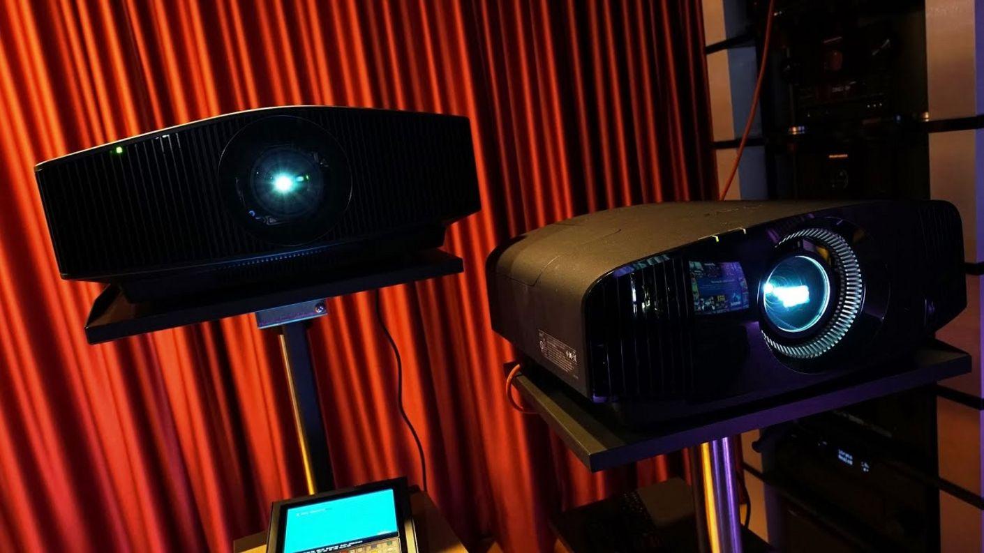 Test (2) Sony VPL-VW590 & VW790ES - wie gut sind die 4K HDR Beamer mit 3D, Gaming. Latenzen etc.